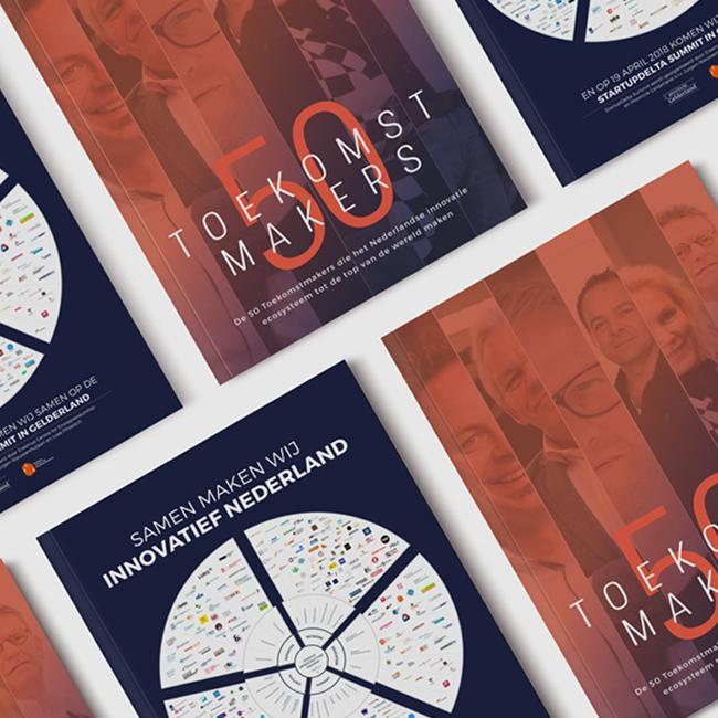 Toekomstmakers50 magazine